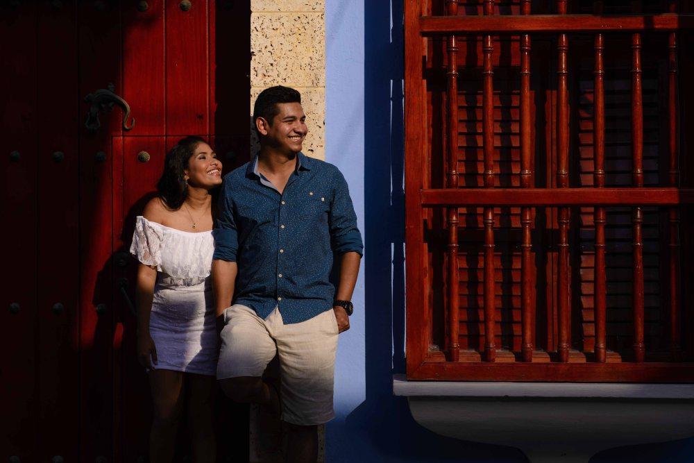 Mary e Ivan PREBODA. Estudio en cartagena de indias-8