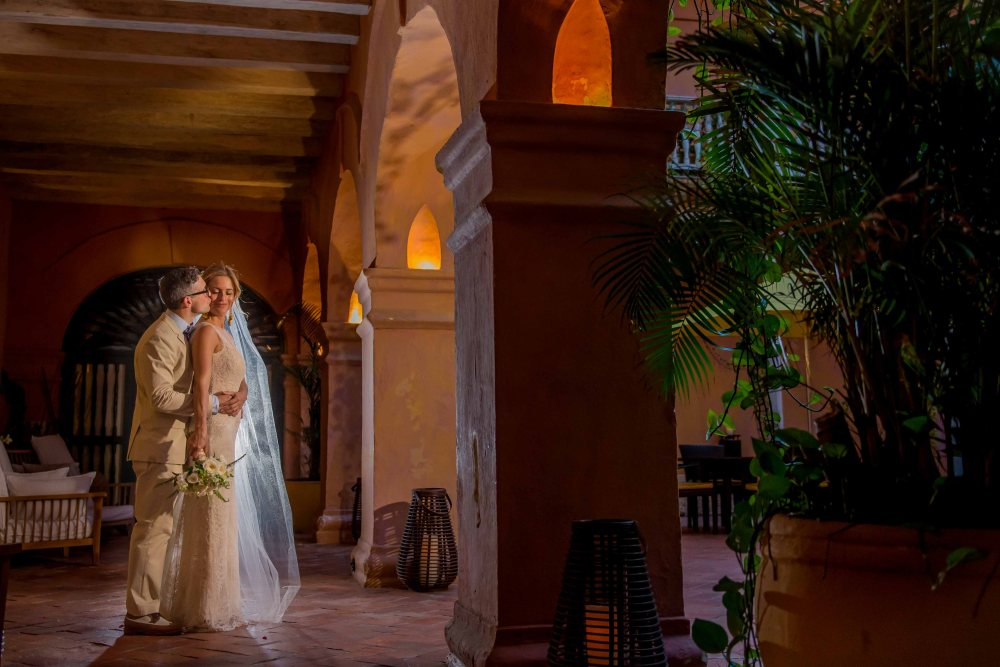 Bodas Cartagena de Indias Colombia Maritza y JP boda -60
